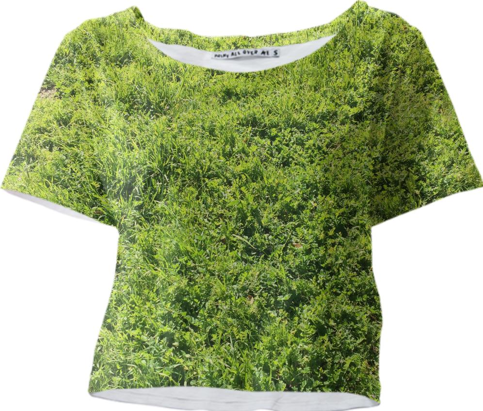 Grass Crop Top