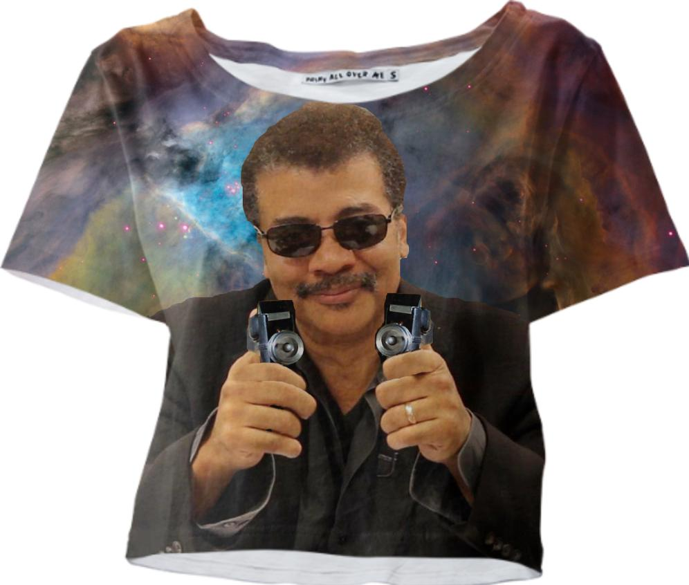 Neil Degrasse Tyson with Phasers
