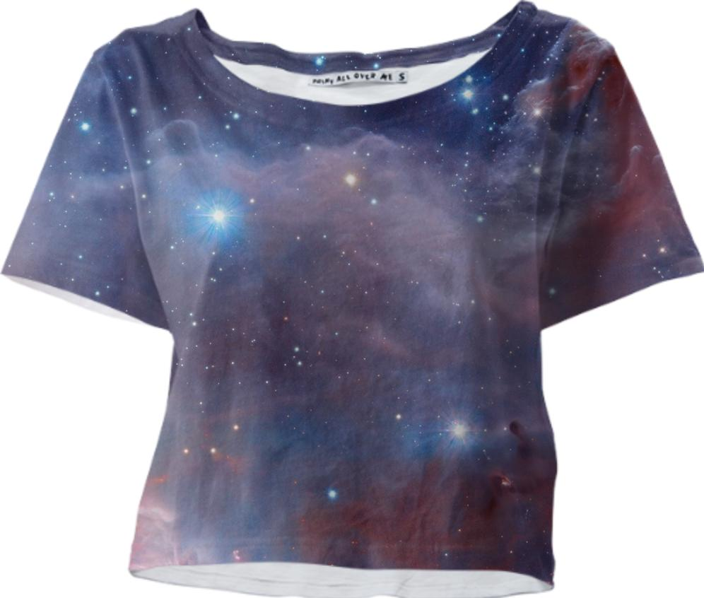 Spaced out crop top