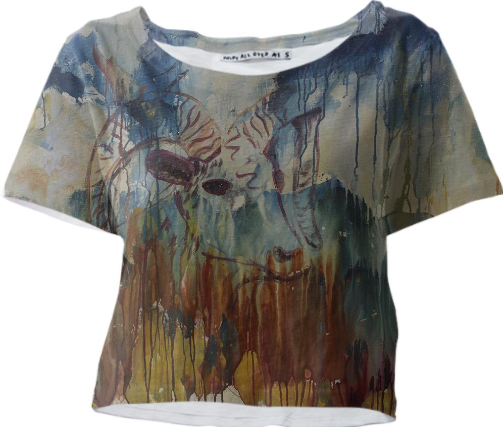 Spearfish Canyon Crop Tee