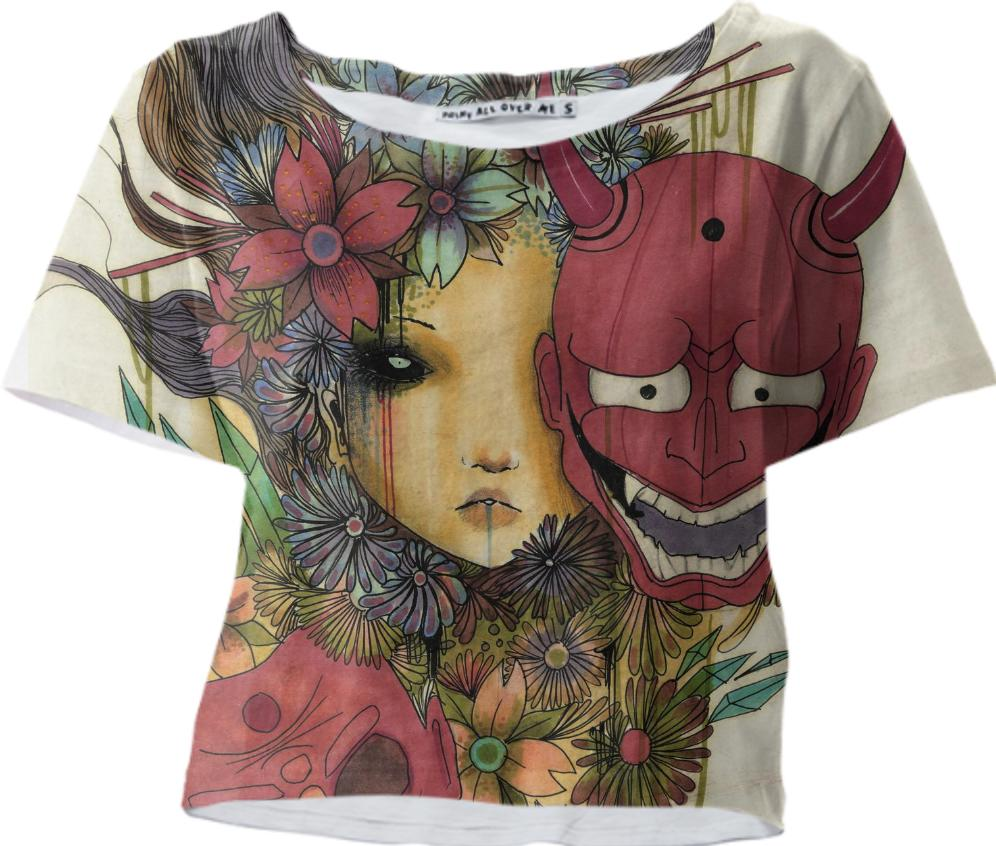 Spirited away crop T