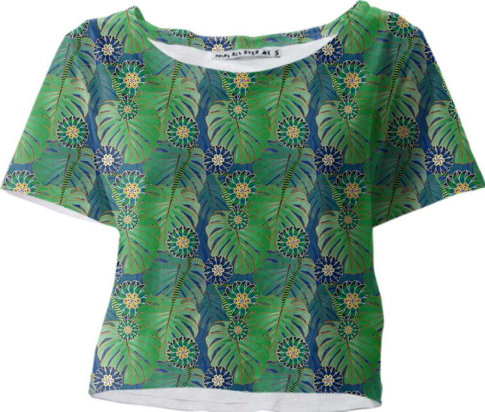 Tropical Plant Crop Tee