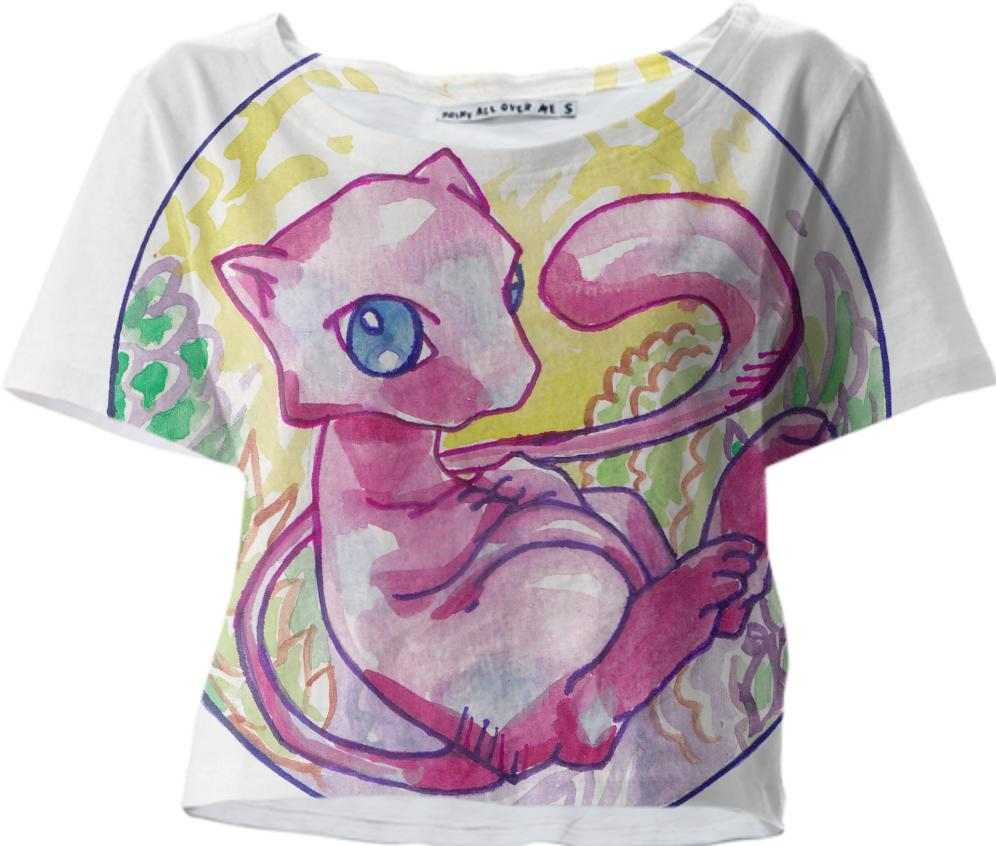 watercolor mew