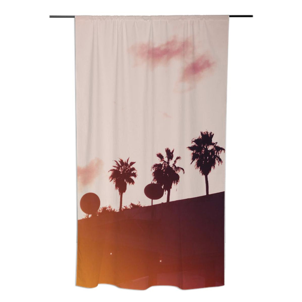 PINK SUNSET CURTAIN