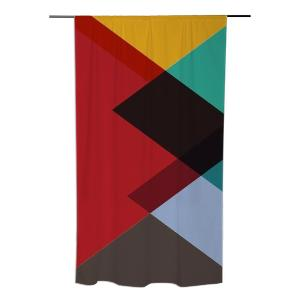 Triangle Love Curtain