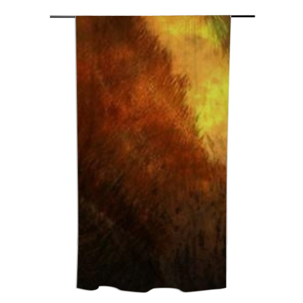 Warm Tones Curtain