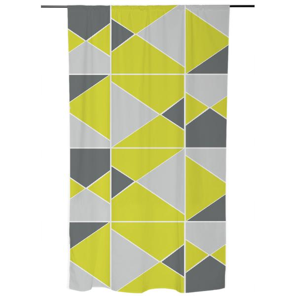 Yellow Grey Pattern