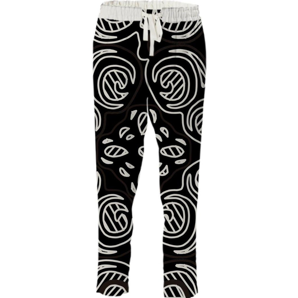 Black and White Pattern Pant