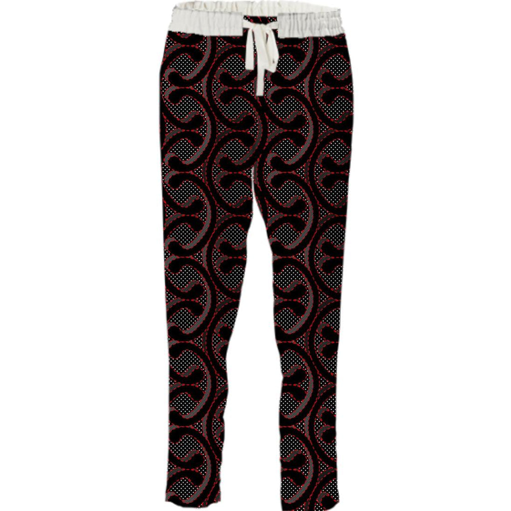 Black Links Pant