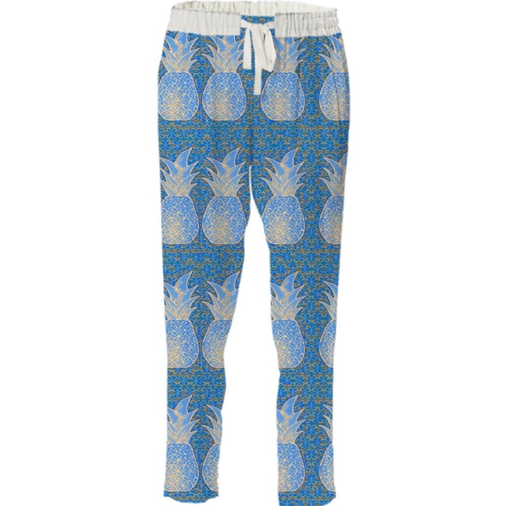Blue Pineapple Pant
