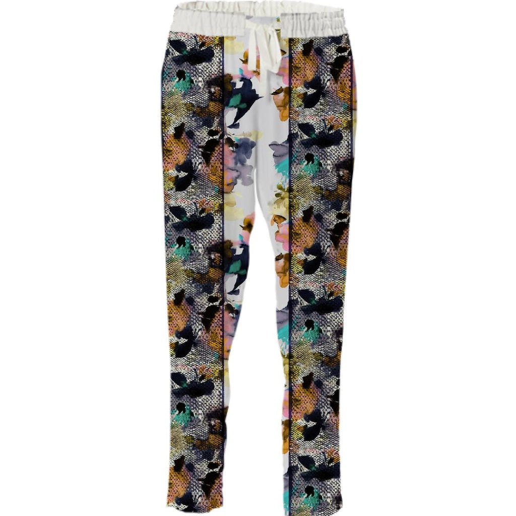 PAOM, Print All Over Me, digital print, design, fashion, style, collaboration, textile-arts-center, textile arts center, Drawstring Pant, Drawstring-Pant, DrawstringPant, Helen, Dealtry, for, TAC, autumn winter spring summer, unisex, Poly, Bottoms