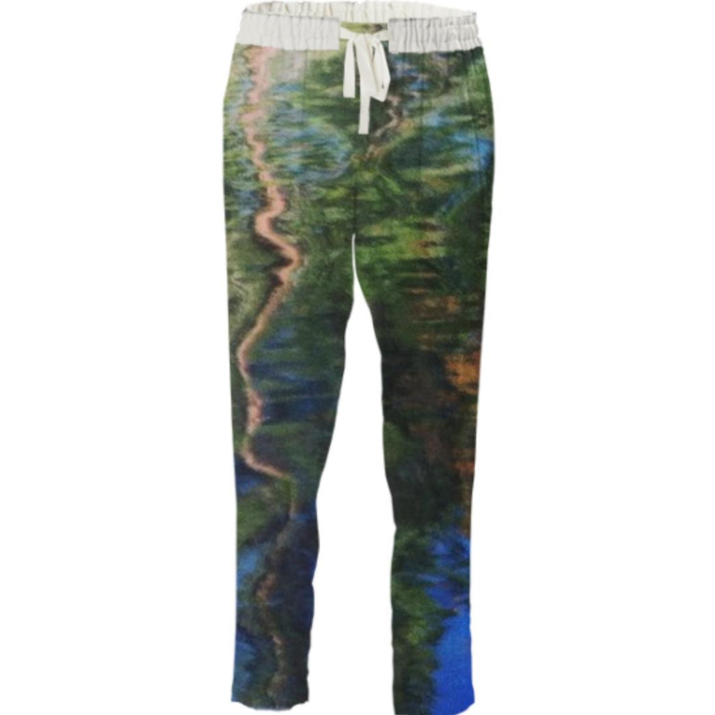 Ripple Drawstring Pants