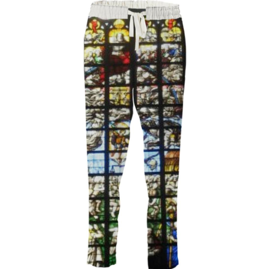 Stained Glass Drawstring Pant