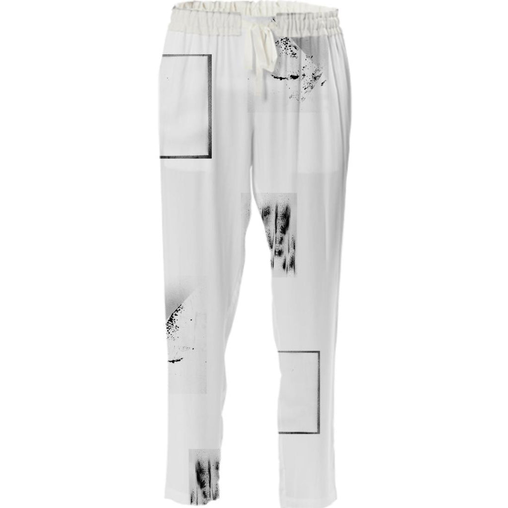 PAOM, Print All Over Me, digital print, design, fashion, style, collaboration, emily-hadden, emily hadden, Drawstring Pant, Drawstring-Pant, DrawstringPant, What, Ever, autumn winter spring summer, unisex, Poly, Bottoms