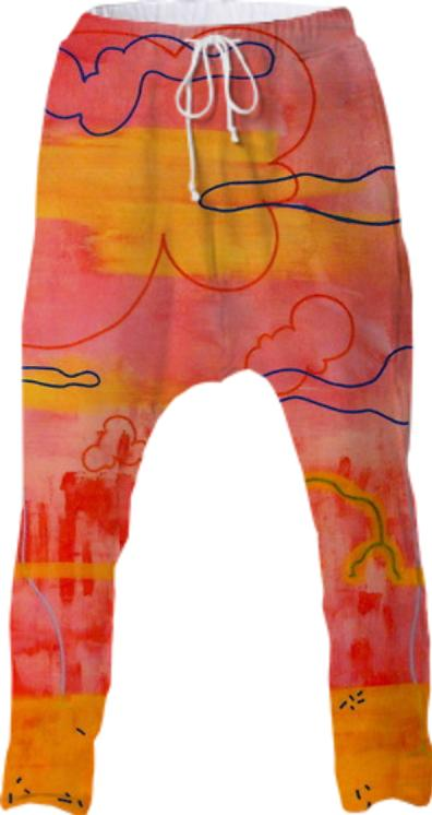 Flamingo Rock Drop Pant