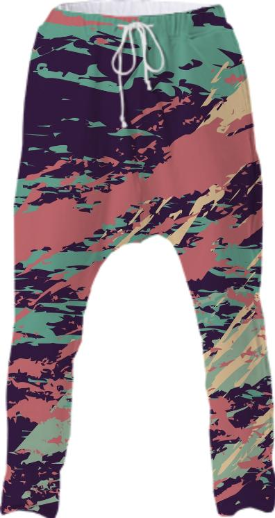 PAINTERLY DROP PANT