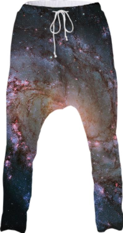 Southern Pinwheel Galaxy Drop Pants