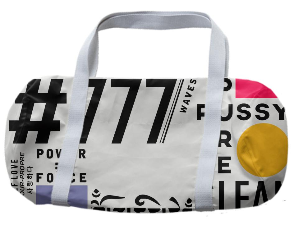 777 Pure Pussy Duffle Bag