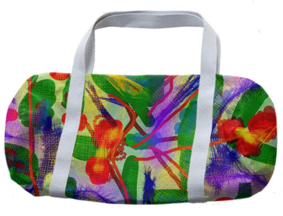 Abstract Garden Design Bag
