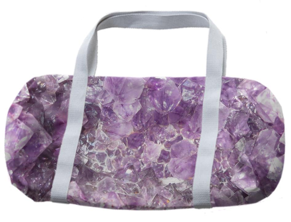Amethyst Delight Duffle Bag by Dovetail Designs