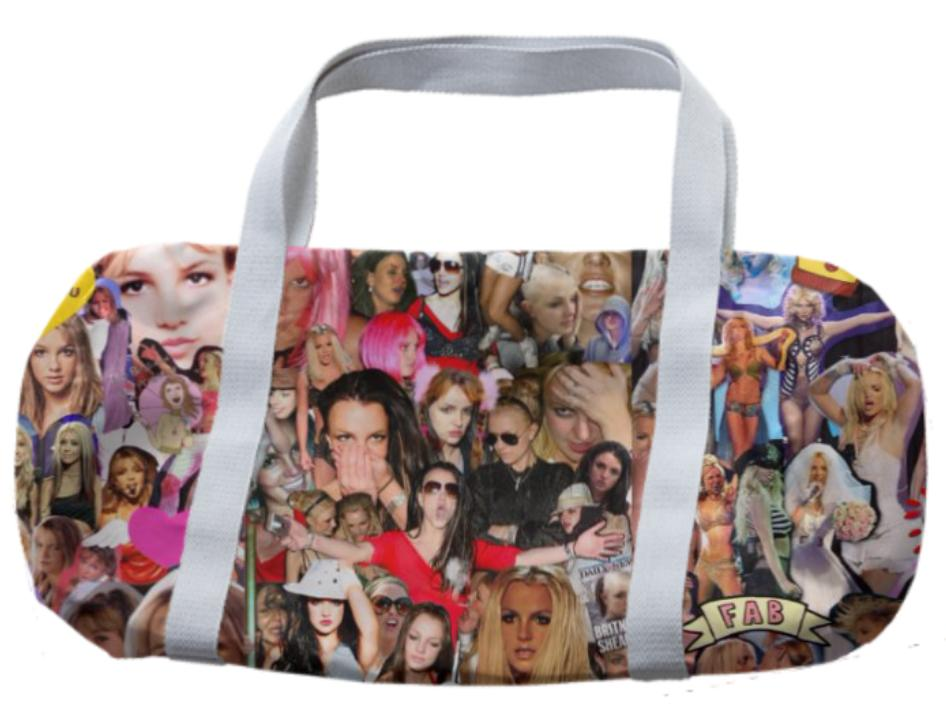 Britney Spears Collage Bag