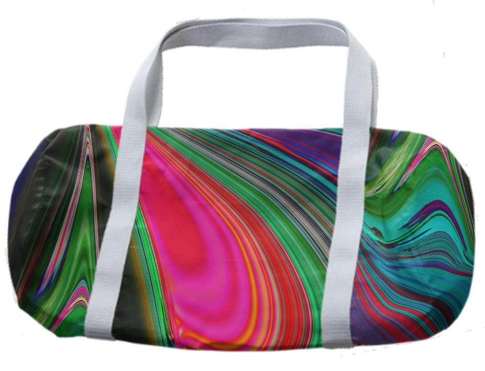 Colour mix duffle bag