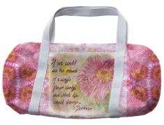 Flower Mandala duffle bag