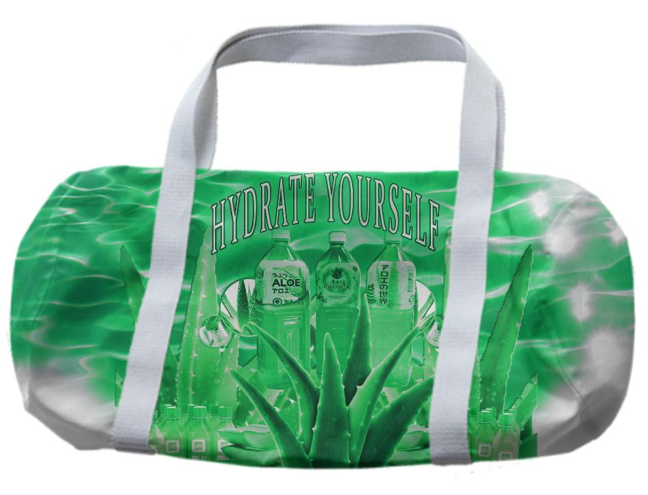 HYDRATE YOURSELF DUFFLE BAG