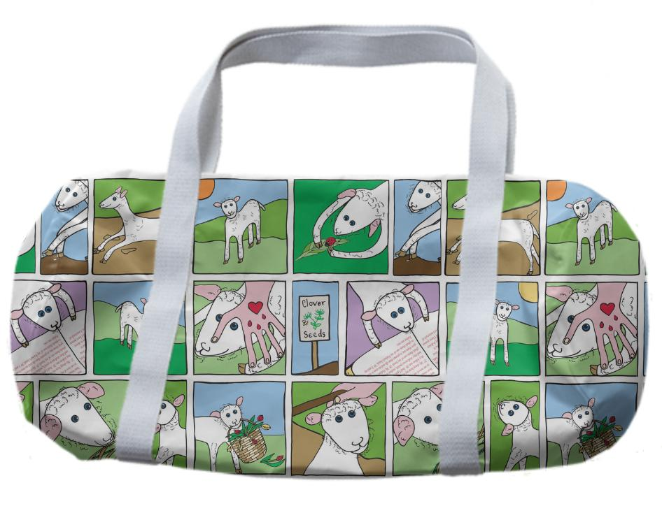 Little Lamb Duffle Bag