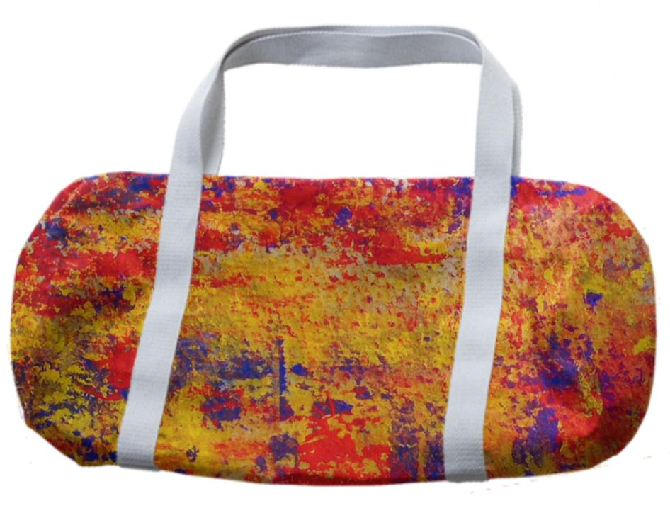 Mack Love Abstract Duffle