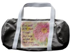 Miracle Flower Duffle Bag