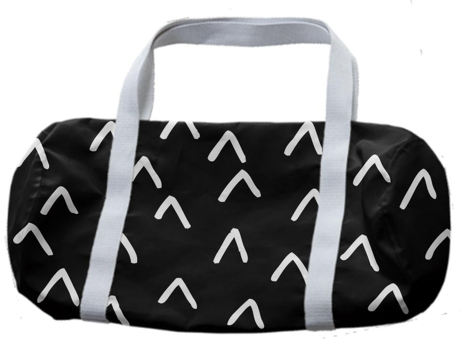 Monochrome Arrow Pattern Bag