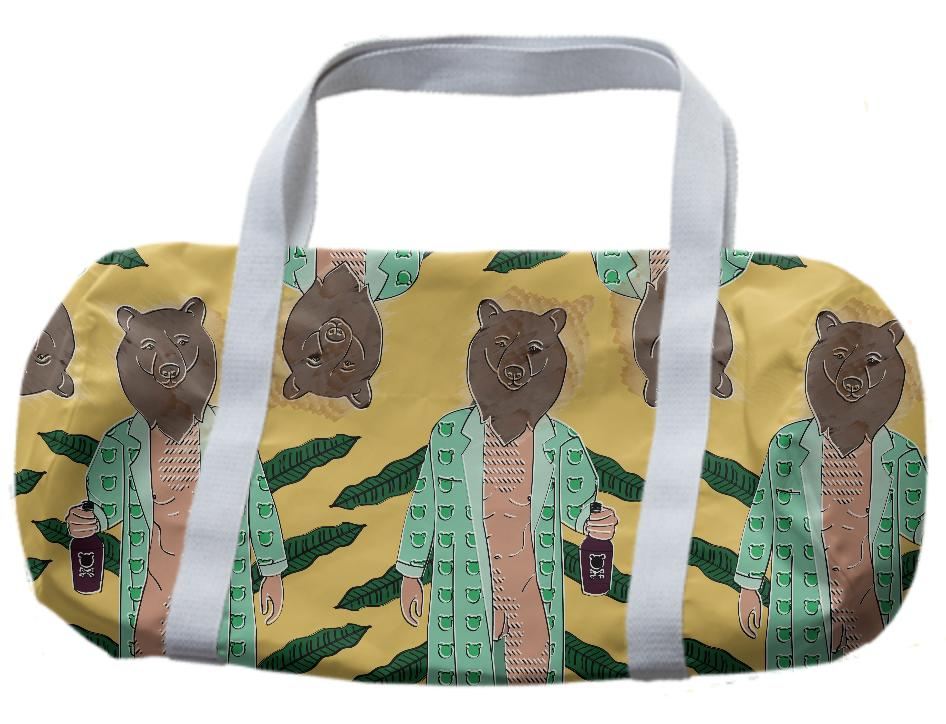 Naked Bear Dufflebag