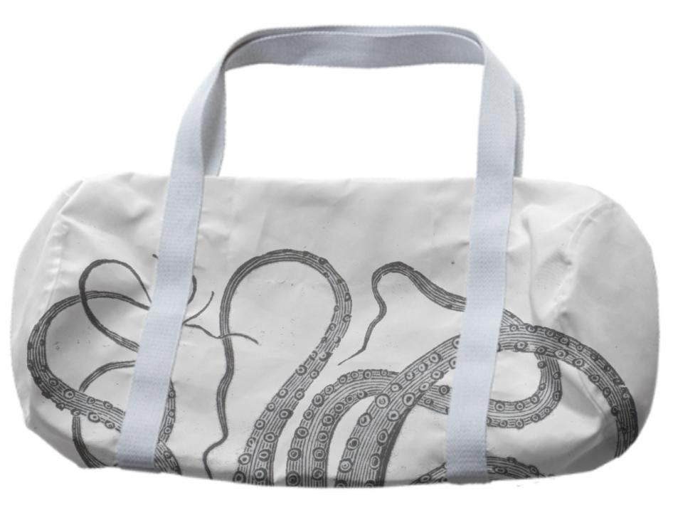 Octopus tentacles vintage kraken sea monster graphic emo goth bag