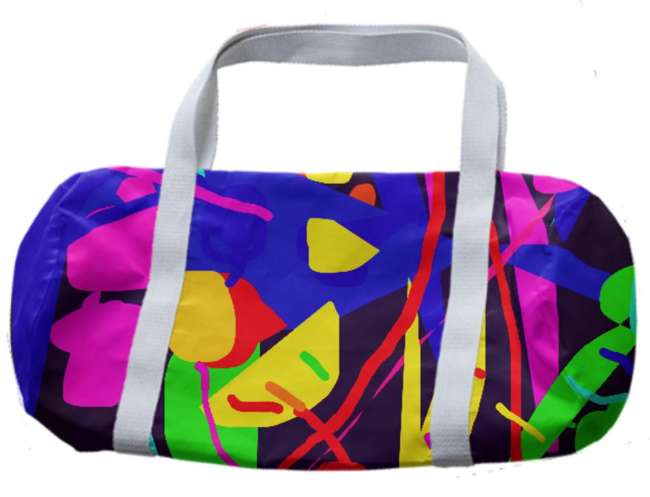 Pop Art Flowers bag