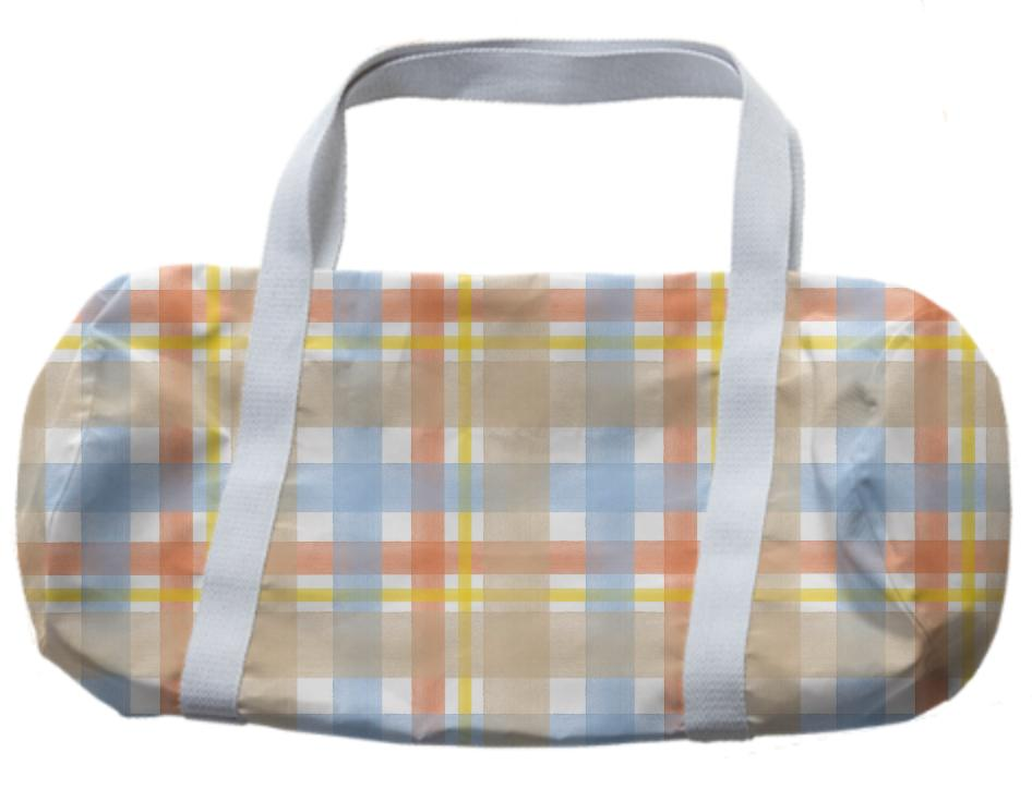 A Sand and Sky Duffle Bag