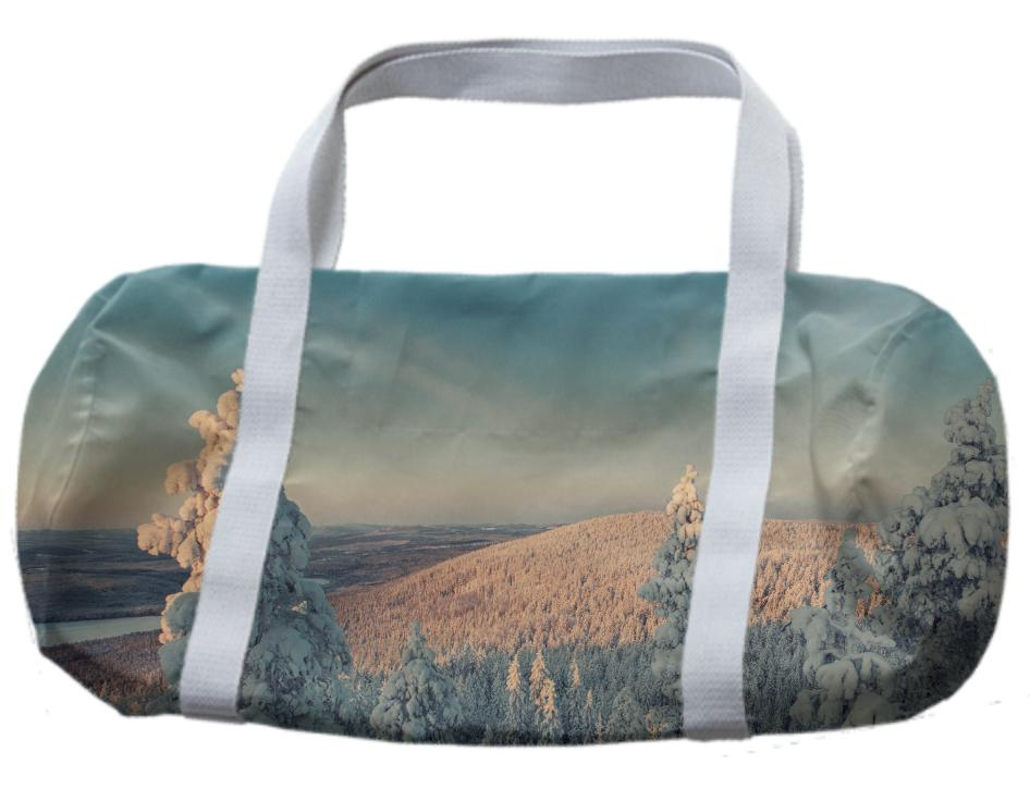 Snowy Tree Bag