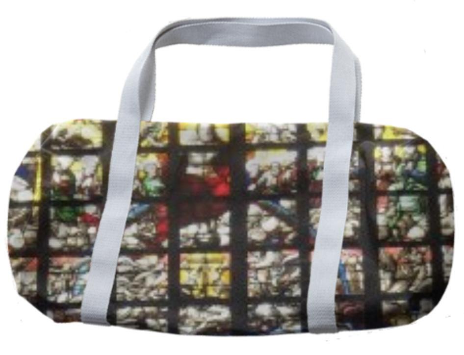 Stained Glass Duffle Bag