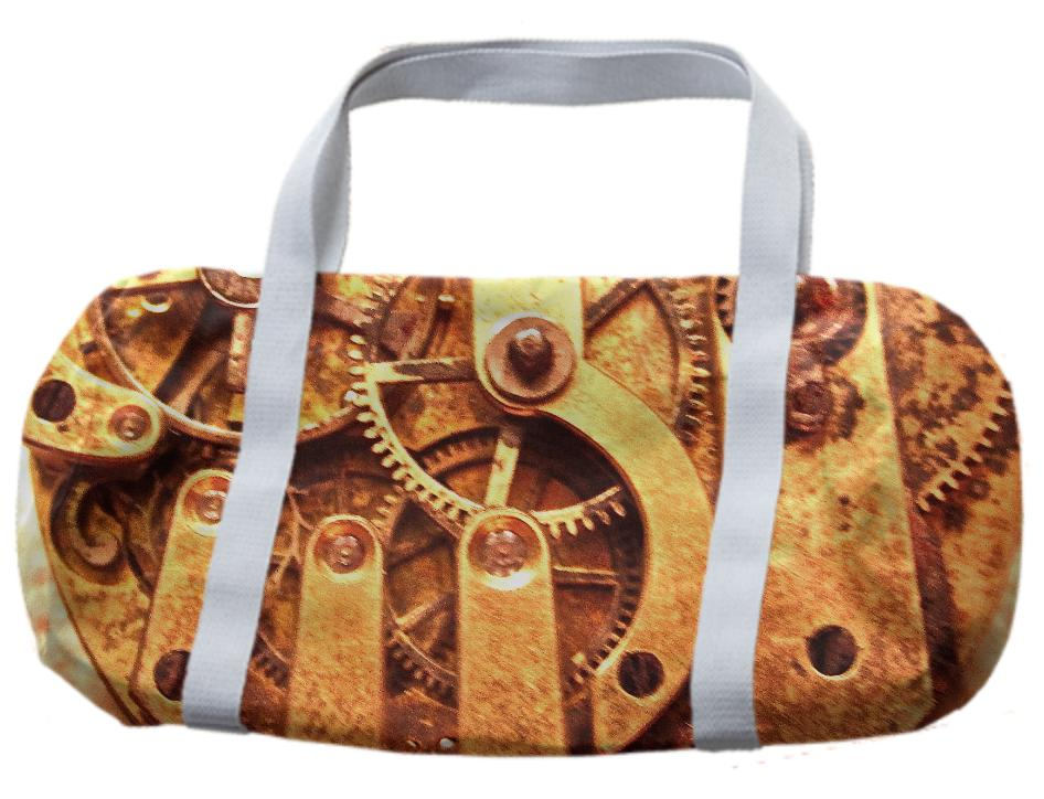Time Is On Your Side Duffle Bag by Dovetail Designs