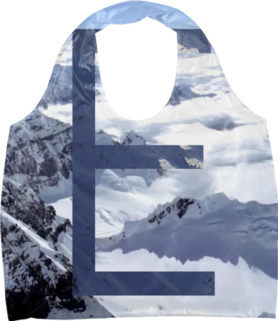 E Snowy Mountain Ecobag