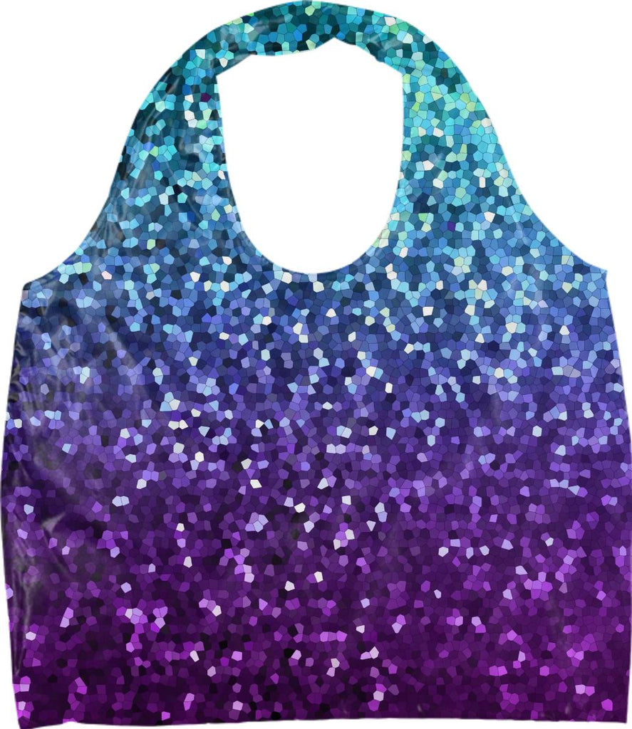 ECO TOTE Mosaic Sparkley Texture G21