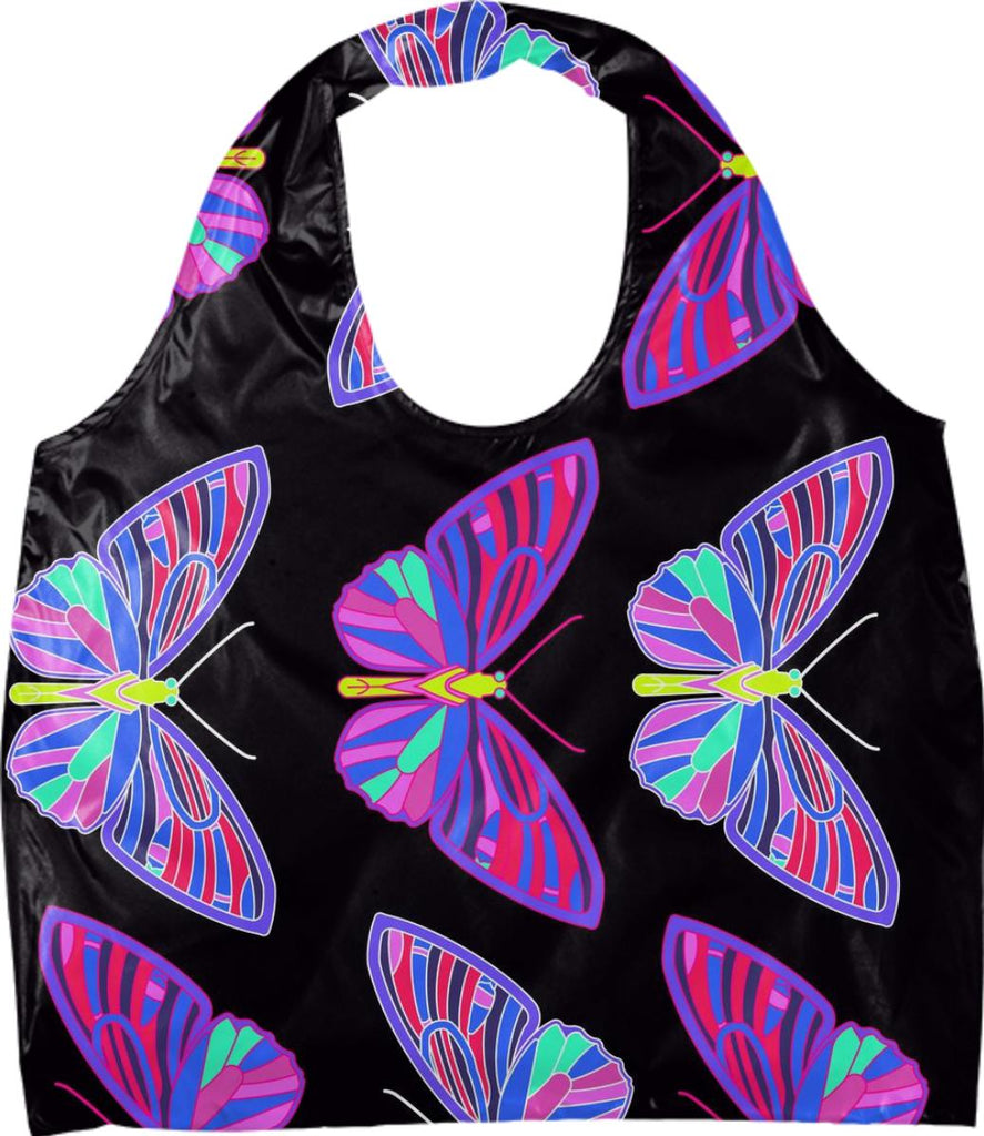 Techno Butterfly Eco Bag