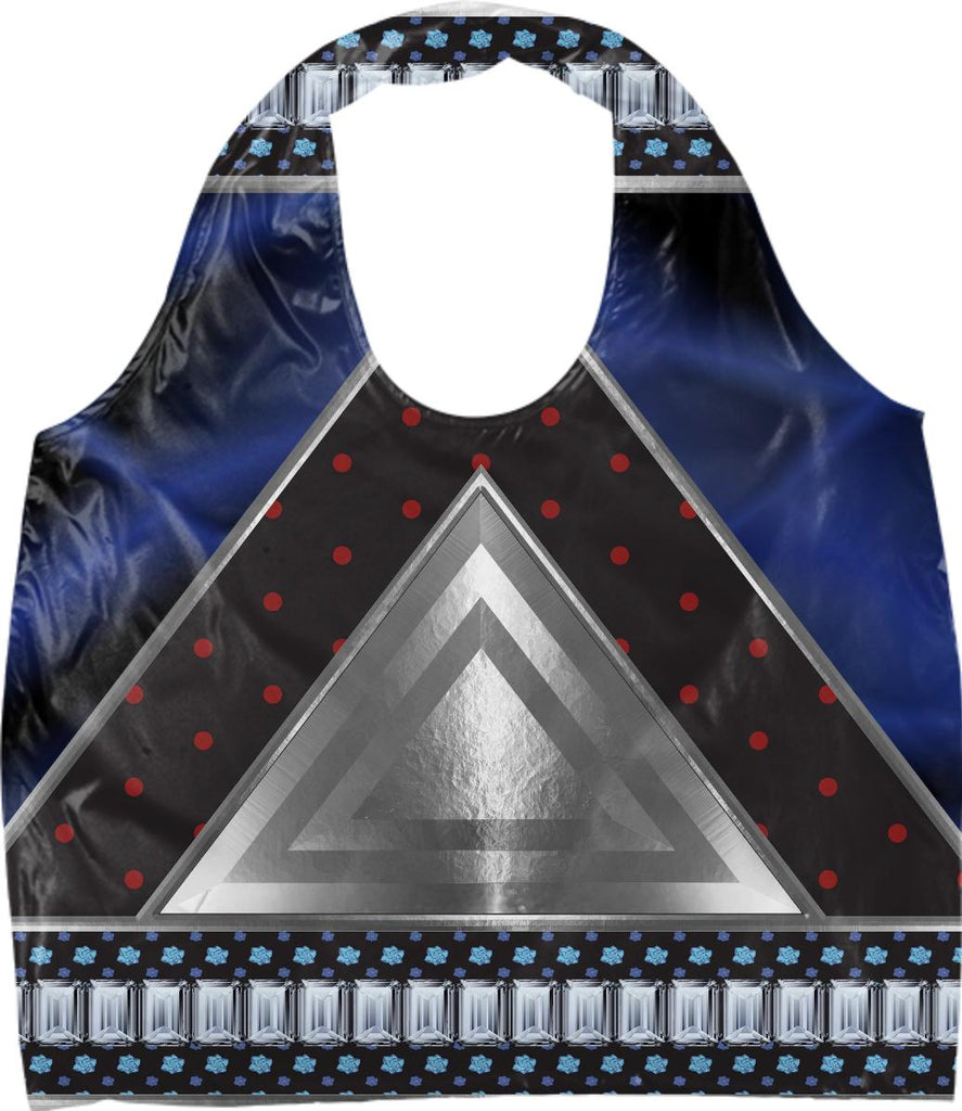 Triangles and Steel Eco Tote