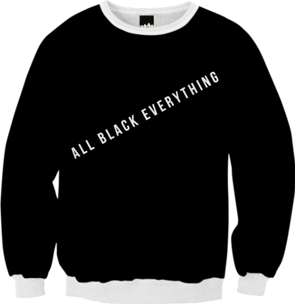 A Sweater to Finally Match the Black of Your Soul