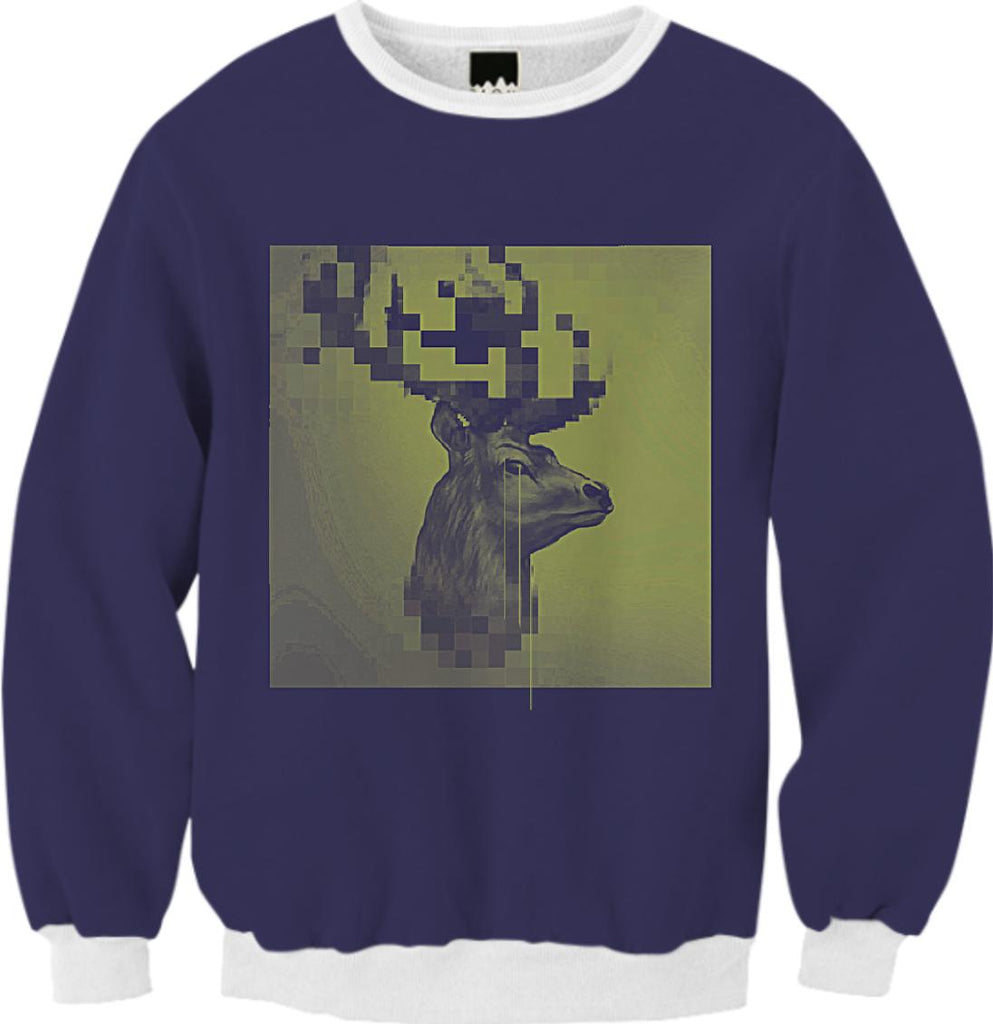 crying digital deer