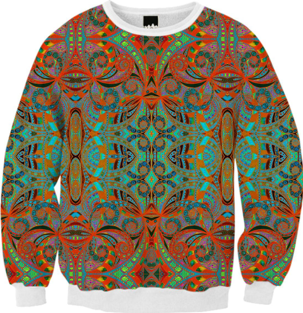 FALL SWEATSHIRT Ethnic Style G39