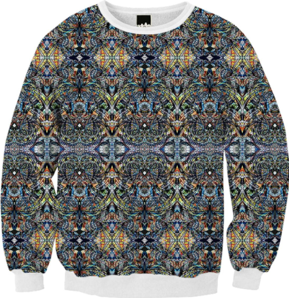 FALL SWEATSHIRT Ethnic Style G40