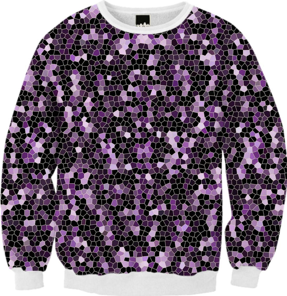 FALL SWEATSHIRT Mosaic Sparkley Texture G47