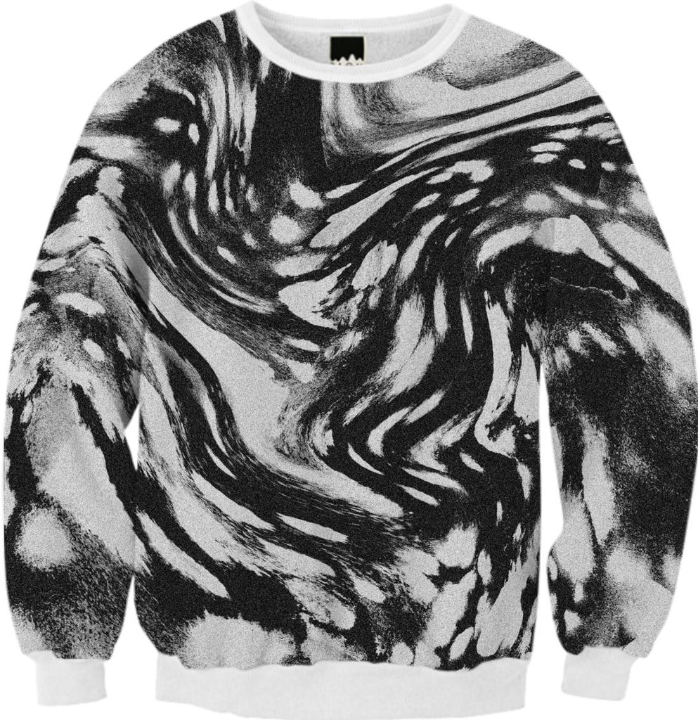 PAOM, Print All Over Me, digital print, design, fashion, style, collaboration, emily-hadden, emily hadden, Ribbed Sweatshirt, Ribbed-Sweatshirt, RibbedSweatshirt, Forever, Ever, autumn winter, unisex, Poly, Tops