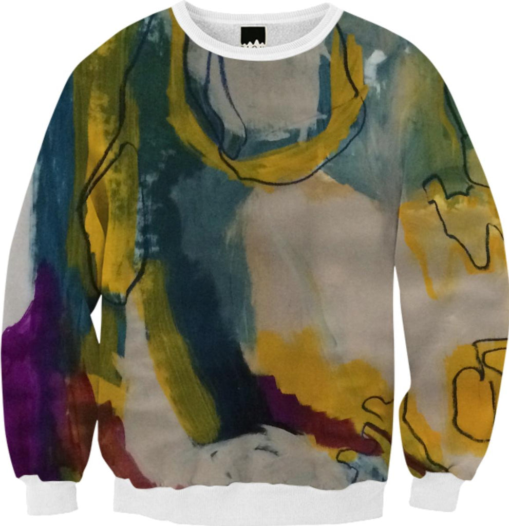 Hazey Watercolor Fall Sweatshirt